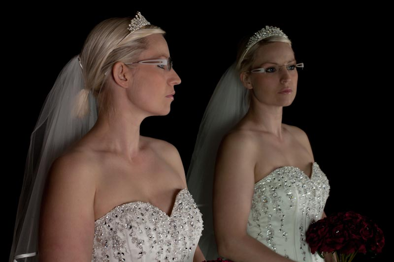 Photo by Dale Turner, Dresses by Bridal Oasis